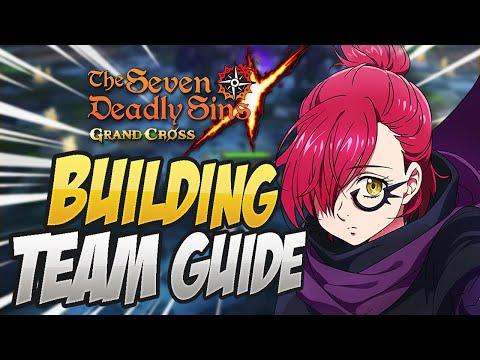 FINAL BOSS GOWTHER TEAM BUILDING GUIDE! Seven Deadly Sins Grand Cross