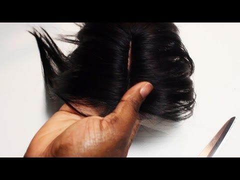 Turn An Invisible Part Into A Lace Closure (SUPER EASY)