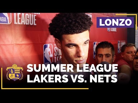 Video: Lonzo Ball On Fatigue, Lakers Headed To Summer League Semifinals