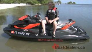8. 2011 Sea-Doo RXT-X aS 260 Personal Water Craft Review