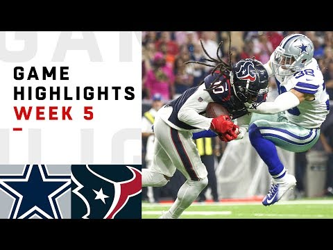 Cowboys vs. Texans Week 5 Highlights  NFL 2018