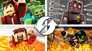 Minecraft Death Swap Funny Moments - maybe 4 people is a little much for this game...HBomb: http://youtube.com/HBomb94Will: http://youtube.com/KiingtongSigils: http://youtube.com/SigilsPlaysGamesTwitch: http://twitch.tv/Graser10Book: http://amzn.to/2hvkelDMerch: http://store.graser10.comSubscribe: http://subscribe.graser10.comTwitter: http://twitter.com/Graser10Instagram: http://instagram.com/Graser10Google+: http://plus.google.com/+Graser10==Intro Music==Song Name: SweetArtist Name: I.Y.F.F.E, Au5 & AuraticVideo Link: http://www.youtube.com/watch?v=qYot9ShfeesAlbum Download Link: http://bit.ly/011iTunesChannel: http://www.YouTube.com/MonstercatMedia