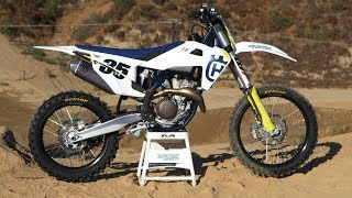 2. First Ride 2019 Husqvarna FC350 - Motocross Action Magazine