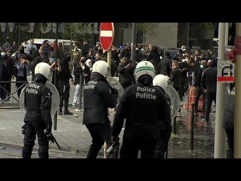 Βέλγιο: Επεισόδια μετά από μεγάλη αντιρατσιστική πορεία…