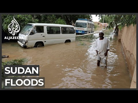 Sudan floods: Calls for gov't to help affected people