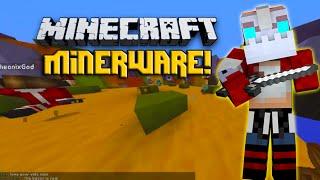 Minecraft - MINER WARE! AWESOME MINI-GAMES! - w/ Nooch, Vikkstar123&Preston