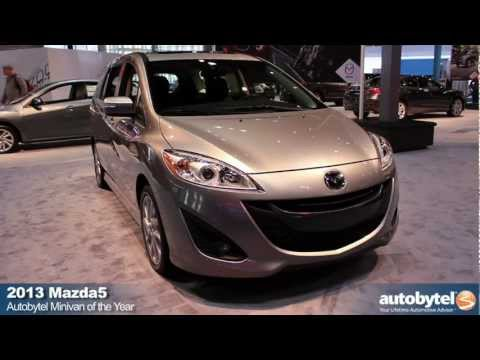 Mazda5 Drives Away With Autobytels Minivan of the Year Award
