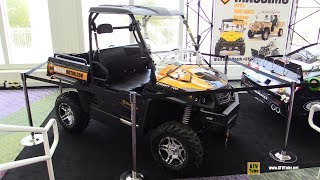 8. 2017 Massimo Knight 700 Utility ATV - Walkaround - 2016 AIMExpo Orlando