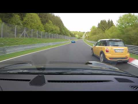 Powerslide at Flugplatz with 180 km/h - Nürburgring Nordschleife