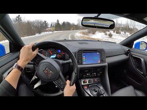 2021 Nissan GT-R Premium - POV Review