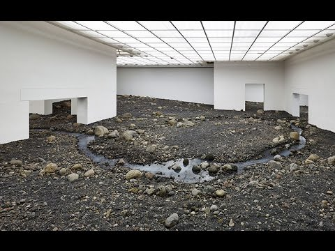 3 Writers on a Riverbed by Olafur Eliasson