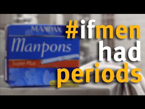 Manpons Put the Men in MenStruation