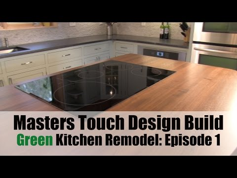 Green Kitchen Remodel Episode 1