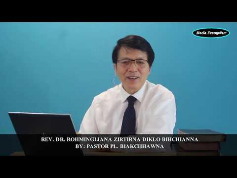 Rev. Dr. Rohmingliana chhanletna||Mosia leh Eliza & Isua lo hruai thlak tur te?  Pr. PL. Biakchhawna
