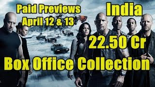 Nonton Fast And The Furious 8 Box Office Collection Paid Previews 2 Days Film Subtitle Indonesia Streaming Movie Download