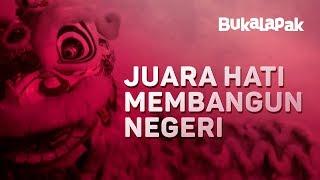 Imlek 2018: Barongsai Indonesia, Juara Hati Membangun Negeri