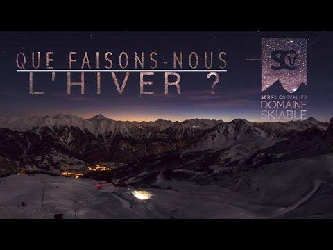Découvrez les coulisses du domaine skiable de Serre Chevalier l'hiver entre humour décalé et images somptueuses !