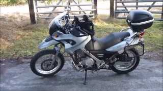 3. Bringing Home Max - 2006 BMW F650GS