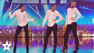 Video MEN IN HEELS Dance INCREDIBLE SPICE GIRLS Tribute on Britain's Got Talent! MP3, 3GP, MP4, WEBM, AVI, FLV Juli 2018