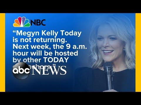 NBC drops Megyn Kelly's morning talk show