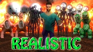 Minecraft | REALISTIC SURVIVAL MINECRAFT MOD! (Realistic World, Real Life, Realistic Monsters)