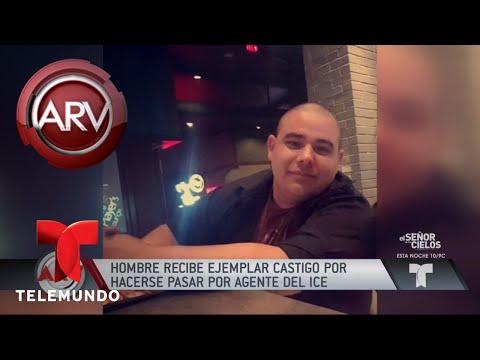 Hombre se hacía pasar por agente de migración   Al Rojo Vivo   Telemundo
