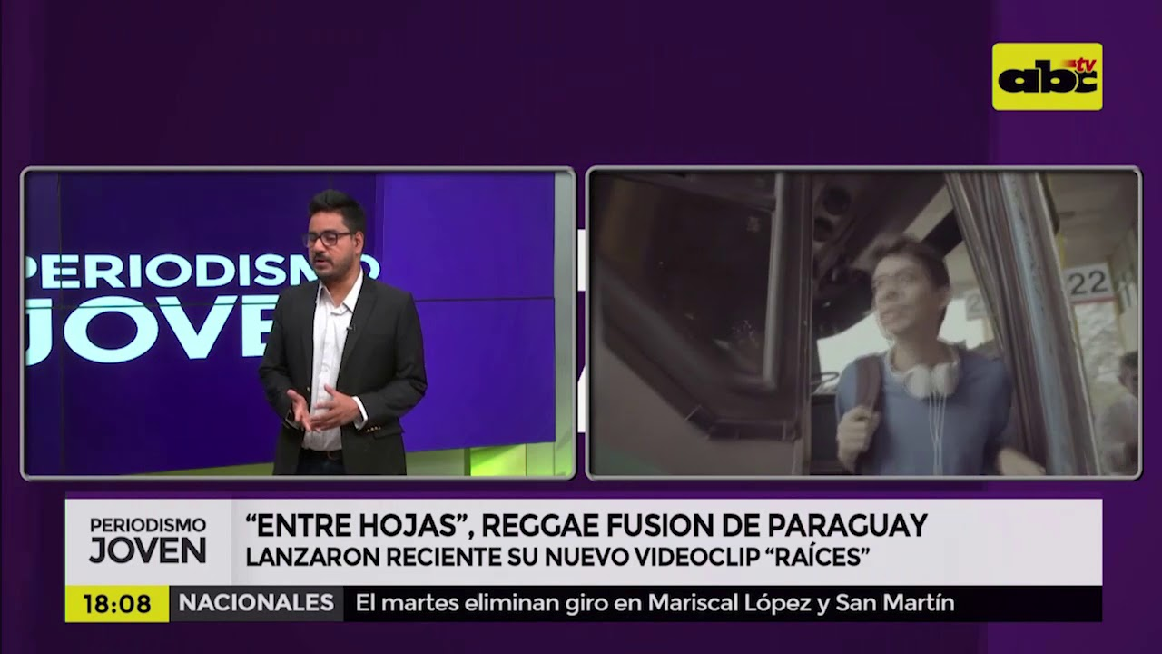 """Entre Hojas"", Reggae Fusion de Paraguay"