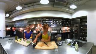 Avocado Pear Juice Smoothie with Sarah Carey - 360° Video by Everyday Food