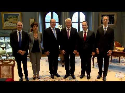 Visite du Secrétaire Général du Conseil de l'Europe