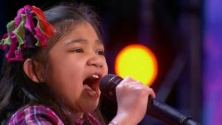 Angelica Hale 9-Year-Old Singer Stuns the Crowd With Her Powerful Voice - America's Got Talent 2017☞DISCLAIMER: I do not own this video, all rights belong to... Thank you for letting me upload your videos without blocking.
