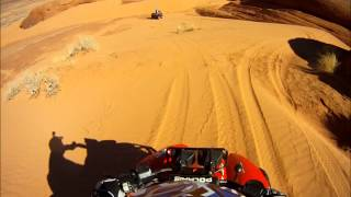8. Sand & Red Rock Outside of Moab Mar 2012, Polaris Scrambler 500
