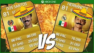 So you might of heard Dos Santos and Hernandez are pretty sweaty on FIFA 15, but which one is the best? Let's find out :D ▫ Twitter: https://twitter.com/#!