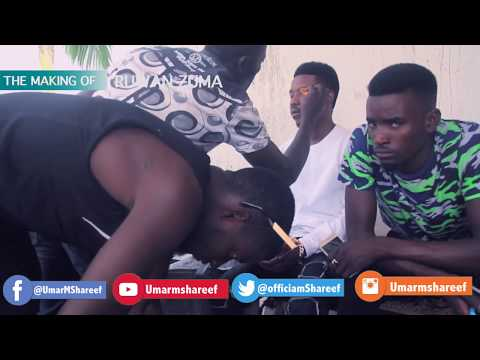 Umar M Shareef RUWAN ZUMA Behind Scene (Official Video)