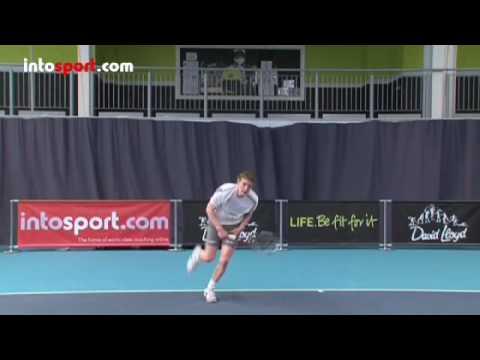 Tennis Serve – Basic Serve Technique
