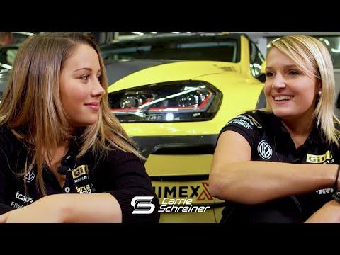 Carrie Schreiner und Jasmin Preisig beim Girls Only Team