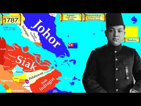Sejarah Kesultanan Siak Sri Indrapura dan Riau