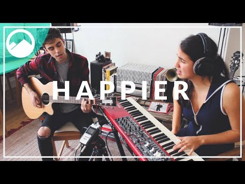 Ed Sheeran - Happier - Live Cover by ROLLUPHILLS & Victoria Canal