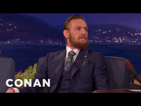 Conor McGregor: I Will Destroy Chad Mendes & Floyd Mayweather  - CONAN on TBS (видео)