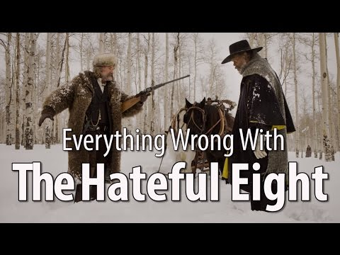Everything Wrong With The Hateful Eight In 11 Minutes Or Less (видео)