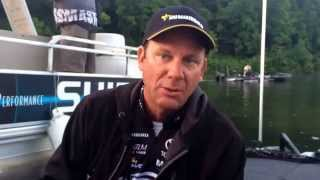 Chickamauga Lake day 3 video update with KVD