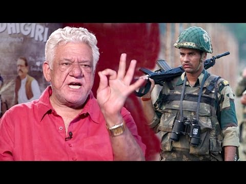 Video Om Puri's BEST Reply To India's Surgical Strike In Pakistan download in MP3, 3GP, MP4, WEBM, AVI, FLV January 2017