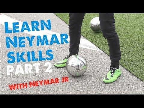 Neymar skills 2014 Part 2 - Learn Football/soccer skills with Neymar & Cafu