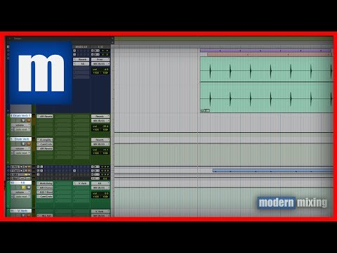 How to Mix Drake/Weeknd Style Drums in Pro Tools - ModernMixing com