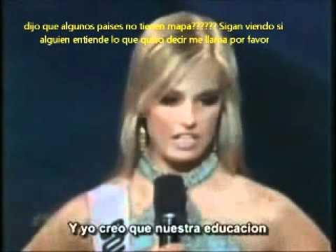video que muestra Las Peores Respuestas de Modelos