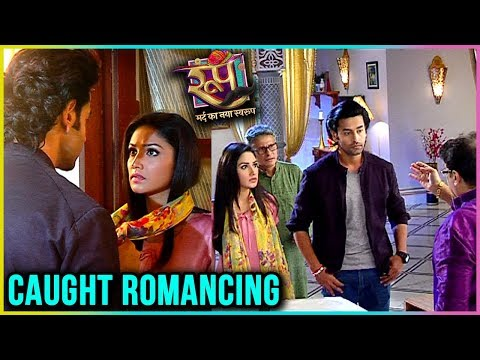 Roop And Ishika CAUGHT ROMANCING By Family | Roop