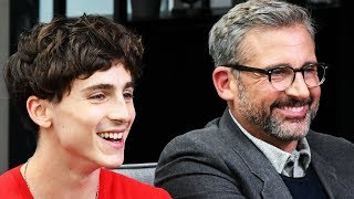 Timothée Chalamet Felt Protected Acting with Steve Carell in 'Beautiful Boy'