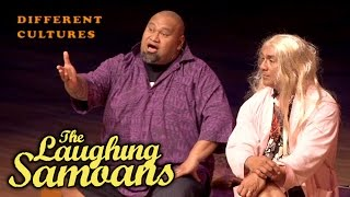 """Different Cultures"" clip off The Laughing Samoans DVD titled Funny Chokers, available at http://www.laughingsamoans.com ..."