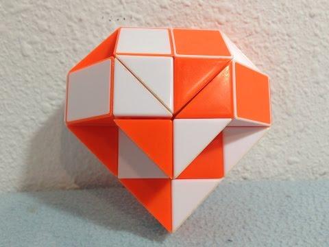 Как сделать шар из круглой змейки рубика
