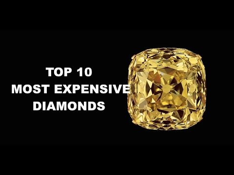 TOP 10 MOST EXPENSIVE DIAMONDS