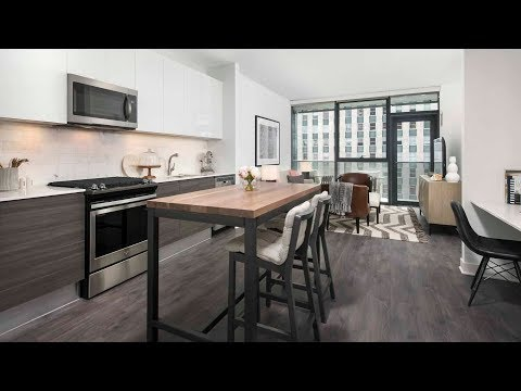 Tour a one-bedroom model at River North's new HUBBARD221